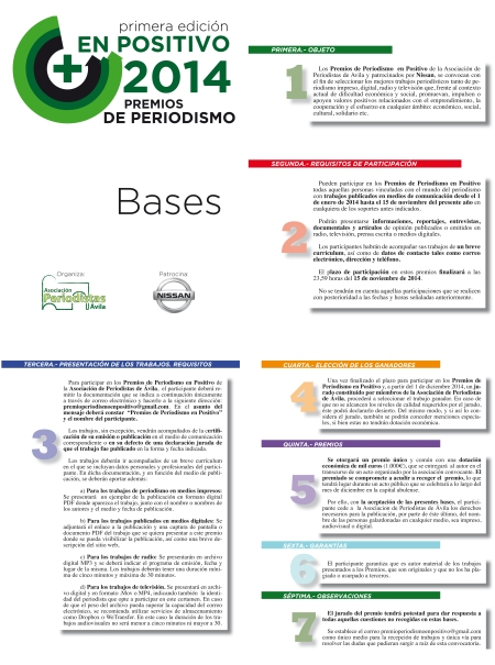Bases Premio En Positivo